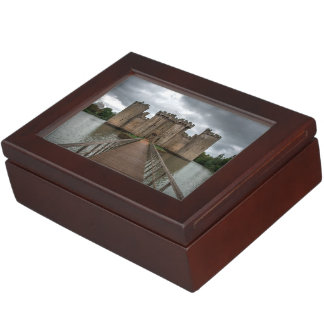 Historic English Castles Bodiam Castle Sussex Keepsake Box