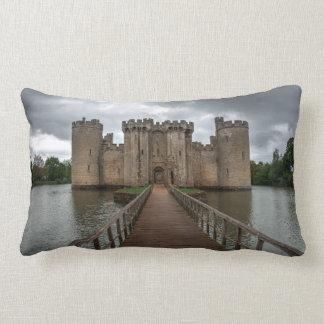 Historic English Castles Bodiam Castle Sussex Lumbar Pillow