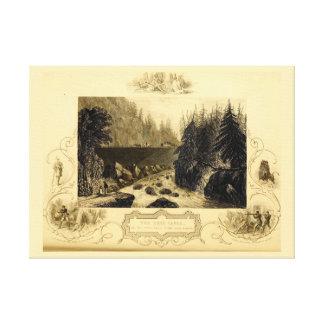 Historic Erie Canal Bicentennial Canvas Print