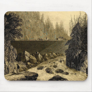 Historic Erie Canal Bicentennial Mouse Pad
