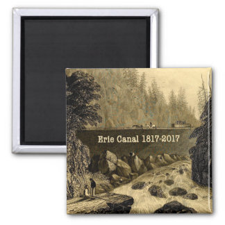 Historic Erie Canal Bicentennial Years Magnet