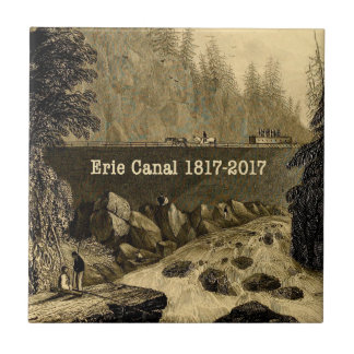 Historic Erie Canal Bicentennial Years Tile