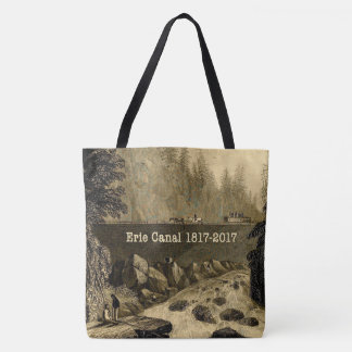 Historic Erie Canal Bicentennial Years Tote Bag