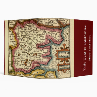 Historic Essex County Map, England Binders