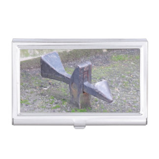 Historic Gate Lock Business Card Holder