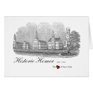 Historic Homer Village Green Notecards Card