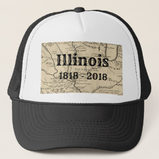 Historic Illinois Bicentennial Trucker Hat