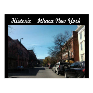 HISTORIC ITHACA, NEW YORK postcard