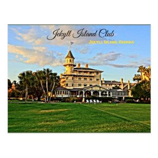 Historic Jekyll Island Club Jekyll Island Georgia Postcard