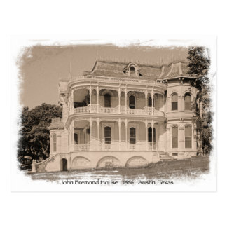 Historic John Bremond House Postcard