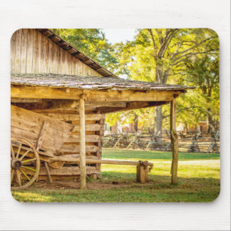 Historic Log Cabin Mouse Pad