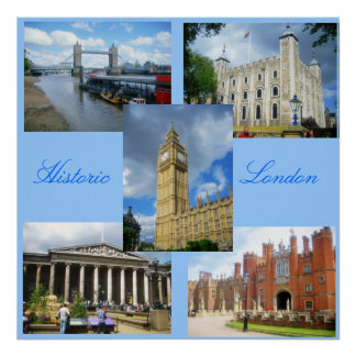 Historic London Poster