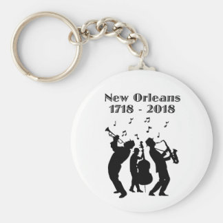 Historic New Orleans Tricentennial Keychain