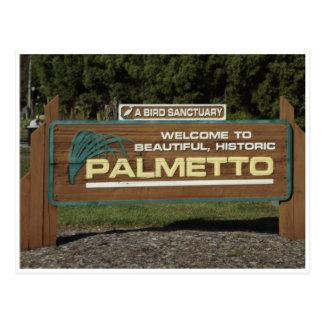 Historic Palmetto Florida Post Card
