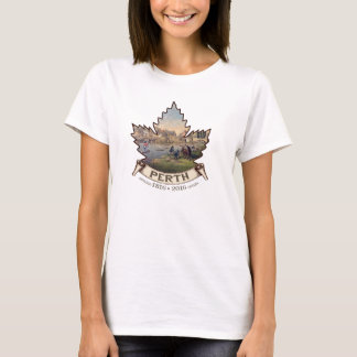 Historic Perth Ontario Maple Leaf T-Shirt