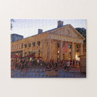 Historic Quincy Market Downtown Boston Jigsaw Puzzle