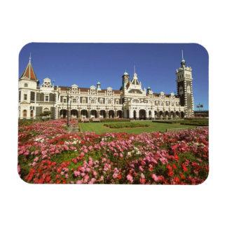 Historic Railway Station, Dunedin, New Zealand Magnet