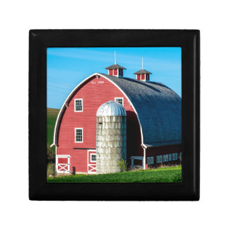 Historic Red Barn - Palouse Region - Washington Gift Box