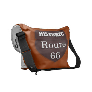 Historic Route 66 Bag Commuter Bags