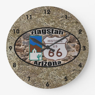 Historic Route 66 ~ Flagstaff, Arizona Wallclocks