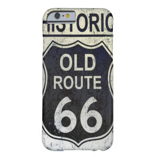 Historic Route 66 Iphone Barely There Case