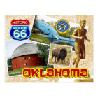 Historic Route 66, Oklahoma Postcard