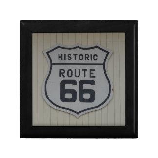 Historic Route 66 retro sign Gift Box
