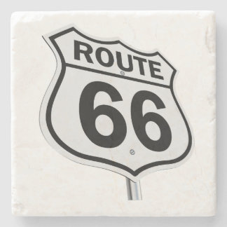 Historic Route 66 Stone Coaster
