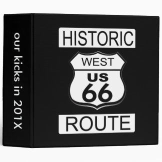 Historic Route 66, West binders