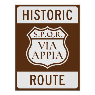 Historic Route: Poster