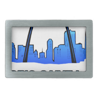 Historic Saint Louis Logo Product Belt Buckle
