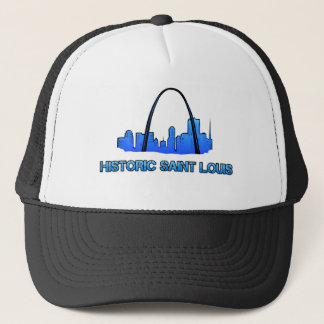 Historic Saint Louis Logo Product Trucker Hat