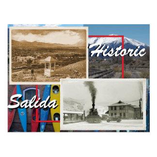 Historic Salida Postcard