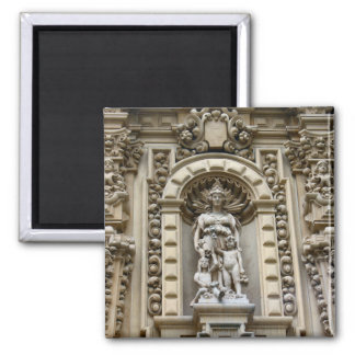 historic san diego architecture square magnet