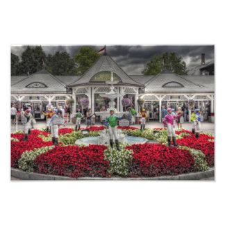 Historic Saratoga Race Course Entrance Photographic Print