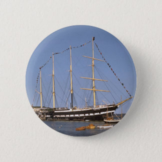 Historic ships 2 inch round button