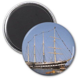 Historic ships 2 inch round magnet