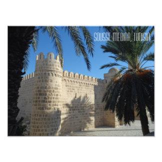 Historic Sousse Medina Street Scene Tunisia Photo Print