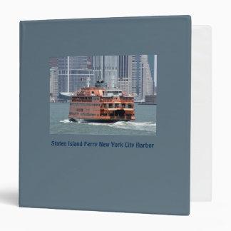 Historic Staten Island Ferry 3-Ring Binder