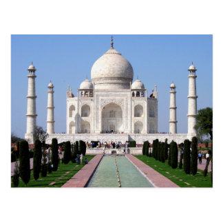 Historic Taj Mahal, Agra, India Postcard