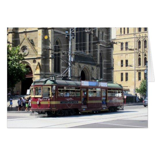 historic tram card