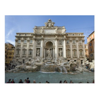 Historic Trevi Fountain in Rome, Italy Postcard