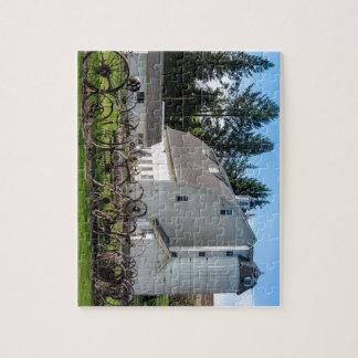Historic Uniontown Washington Dairy Barn Jigsaw Puzzle
