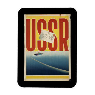 Historic Vintage USSR Travel Poster Magnet