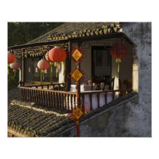 Historic Zhouzhuang Water Village, Zhouzhuang, Poster