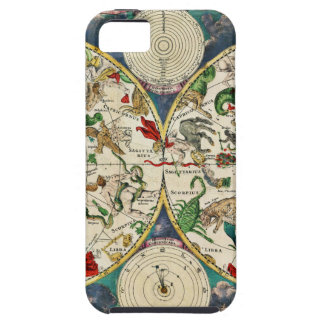 Historic Zodiac Map, 1670 iPhone 5 Cover