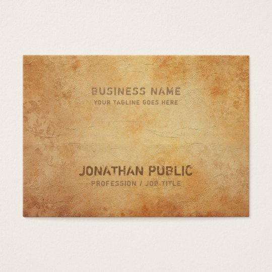 Historical Antic Look Design Creative Inspiration Business Card