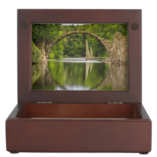 Historical bridge east germany keepsake box