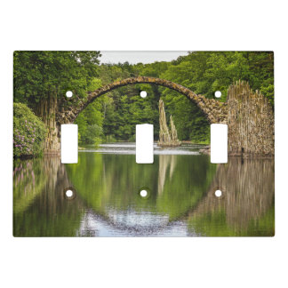 Historical bridge east germany light switch cover