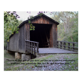 Historical Bridge Poster